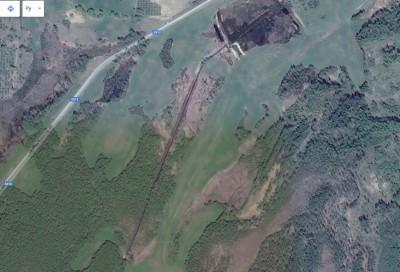 пруд 3 га - превращение из поля в водоем Или как бобры помогли в этом - 3 га 2016 год, 900 метров водоотводного канала.jpg
