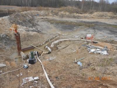 Изготовление и установка шахт водоспусков типа Монах - мой отчет фото и видео  - DSCN1862[1].JPG