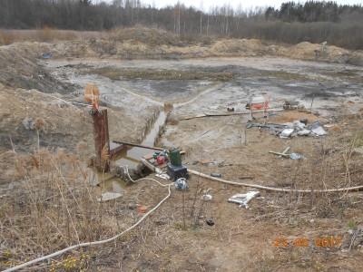 Изготовление и установка шахт водоспусков типа Монах - мой отчет фото и видео  - DSCN1859[1].JPG
