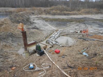 Изготовление и установка шахт водоспусков типа Монах - мой отчет фото и видео  - DSCN1868[1].JPG