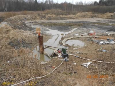 Изготовление и установка шахт водоспусков типа Монах - мой отчет фото и видео  - DSCN1864[1].JPG