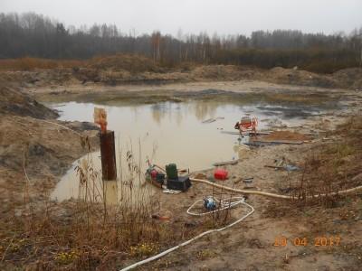 Изготовление и установка шахт водоспусков типа Монах - мой отчет фото и видео  - DSCN1871[1].JPG