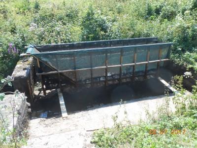 Рыбоуловитель, или упрощаем сбор рыбы при спуске прудов - DSCN2341.JPG
