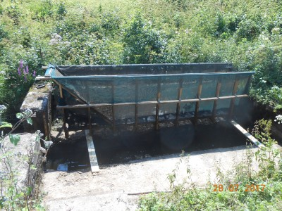 Рыбоуловитель, или упрощаем сбор рыбы при спуске прудов - DSCN2349.JPG
