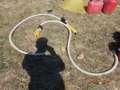 Пруд под пленкой- эксперимент онлайн и что получилось фото видеоотчет  - DSCN2095.JPG