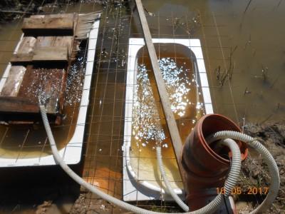 Пруд под пленкой- эксперимент онлайн и что получилось фото видеоотчет  - DSCN2119.JPG